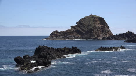 Madeira-Off-Shore-Rocks-With-Waves