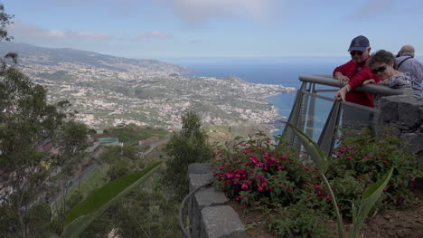 Madeira-Tourists-At-View-Point
