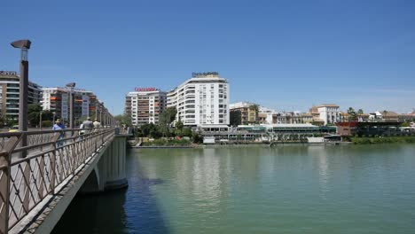 Seville-Bridge-Over-Guadalquivir-River