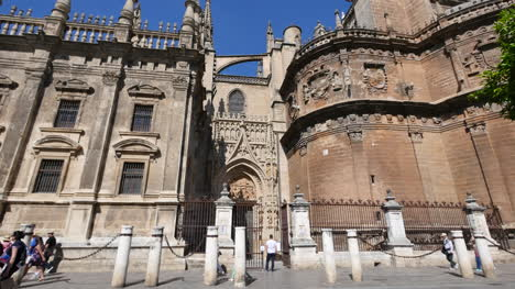 Seville-Cathedral-With-Side-Entry