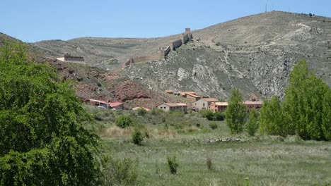 Spain-Albarracin-In-Distance