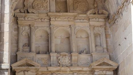 Spain-Alcala-De-La-Selva-Church-Facade