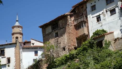 Spain-Alcala-De-La-Selva-Houses