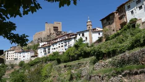 Spain-Alcala-De-La-Selva-Town-View