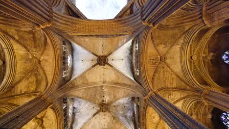 España-Barcelona-Catedral-Gótico-Techo