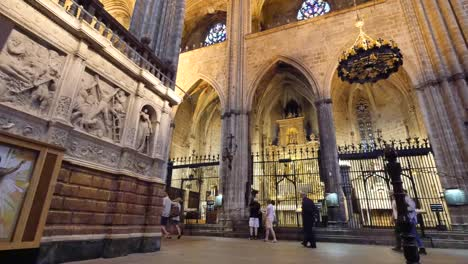 Spain-Barcelona-Cathedral-Gothic-Interior
