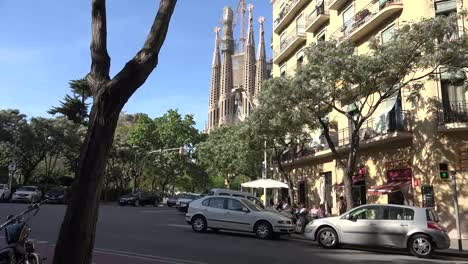 Spain-Barcelona-Sagrada-Familia-And-Apartments