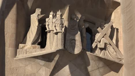 Spain-Barcelona-Sagrada-Familia-Carving-Of-Christ-Trial