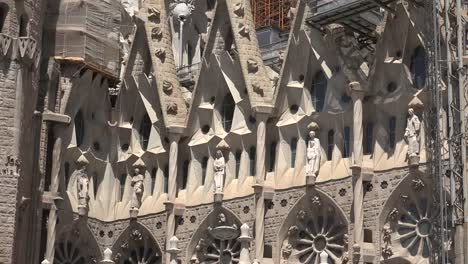 Spain-Barcelona-Sagrada-Familia-Five-Carved-Saints