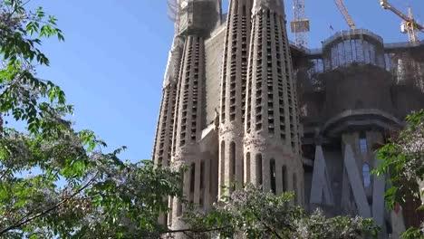 Spain-Barcelona-Sagrada-Familia-Zoom-In-On-Christ-Carving