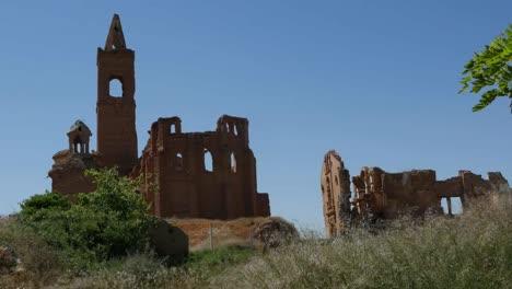 Spain-Belchite-Ruined-Church