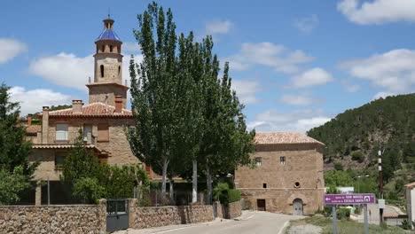 Spain-Cabra-De-Mora-Road-By-Town
