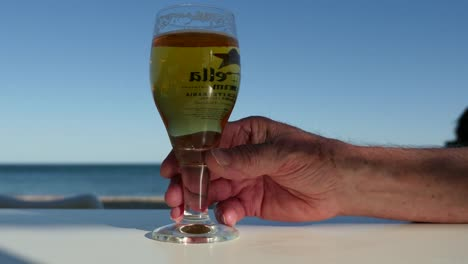 Spain-Cambrils-Glass-Of-Beer