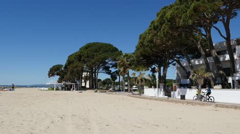 Spain-Cambrils-View-Of-Beach-And-Path