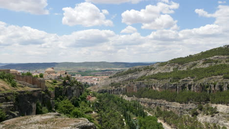 Spain-Cuenca-Distant-View-Of-City