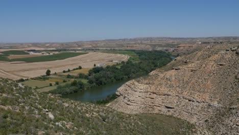 Spain-Ebro-River-Beyond-Cliffs