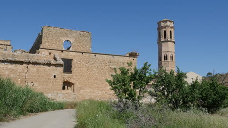 Spain-Monasterio-De-Rueda-Back-With-Tower
