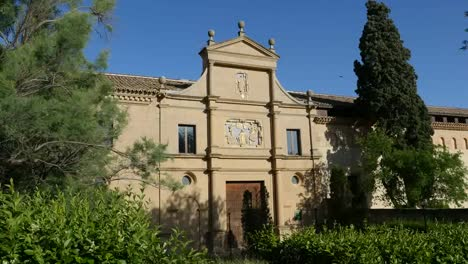 Spain-Monasterio-De-Rueda-Facade-From-Side