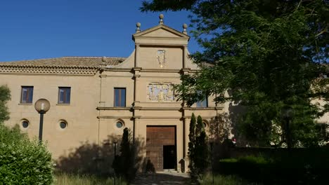 Spain-Monasterio-De-Rueda-Front-Door