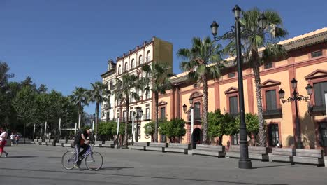 Spain-Seville-Row-Of-Buildings