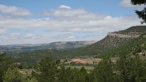 Spain-Sierra-De-Gudar-House-In-Valley