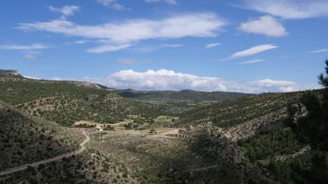 Spain-Sierra-De-Gudar-Landscape-Time-Lapse