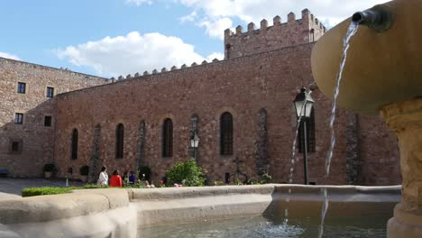 Spain-Siguenza-Castle-Fountain