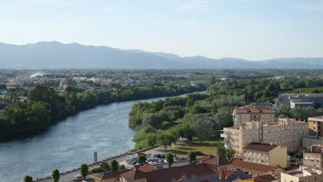Spain-Tortosa-Ebro-River-From-Parador-Grounds