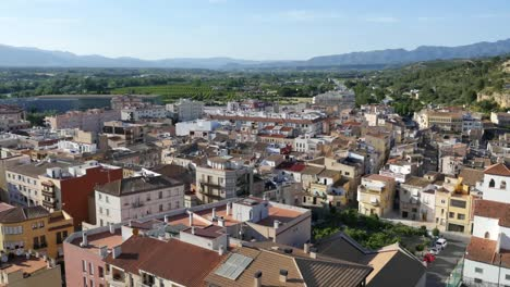 Spain-Tortosa-View-Of-City-Below