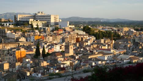 Spain-Tortosa-View-Of-City-In-Afternoon-Light