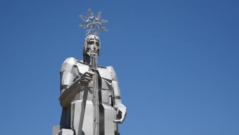 Spain-Statue-Of-Warrior-At-Source-Of-The-Tajo