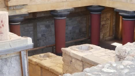 Greece-Crete-Knossos-Looking-Into-The-Labyrinth