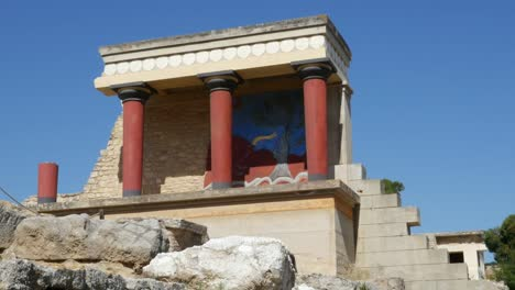 Greece-Crete-Knossos-Restored-Portico-Good-View