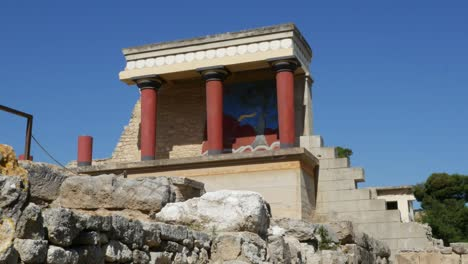 Greece-Crete-Knossos-Restored-Portico-View