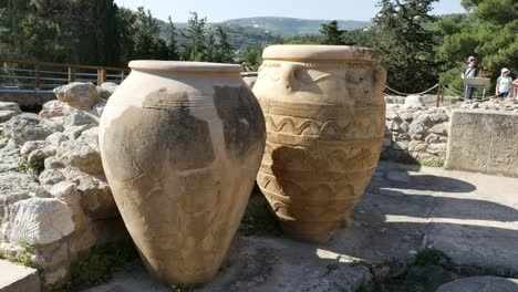 Greece-Crete-Knossos-Storage-Jars-In-Ruin