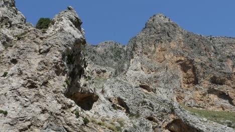 Greece-Crete-Kourtaliotiko-Gorge-Jagged-Rocks