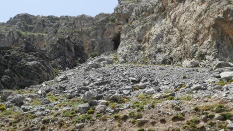 Greece-Crete-Kourtaliotiko-Gorge-Rock-Slide