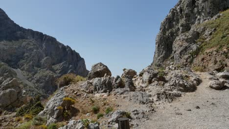 Greece-Crete-Kourtaliotiko-Gorge-Scattered-Rocks