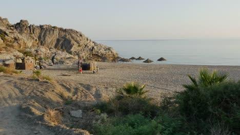 Grecia-Creta-Libia-Costa-Del-Mar-Familia-De-Vacaciones