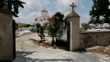 Greece-Crete-Country-Church-Gate
