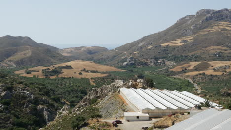 Greece-Crete-Greenhouses-And-View