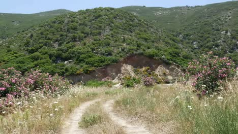 Greece-Crete-Hills-And-Dirt-Road