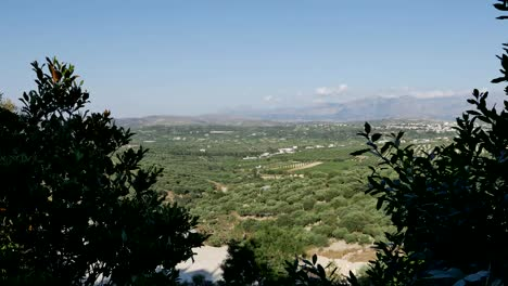 Greece-Crete-Landscape-View-With-Trees