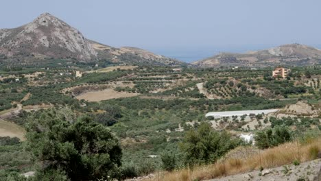 Greece-Crete-Mountain-And-Agriculture