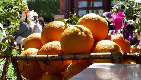 Greece-Crete-Oranges-In-A-Basket