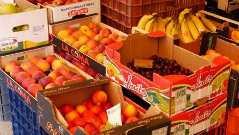 Greece-Heraklion-Fruit-In-Boxes