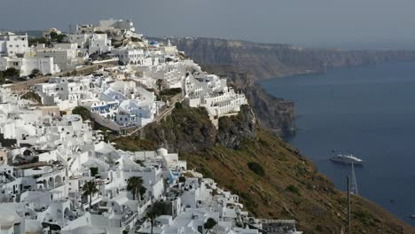Greece-Santorini-Fira-Afternoon-View