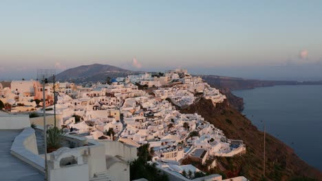 Greece-Santorini-Fira-Entire-Town-In-Evening