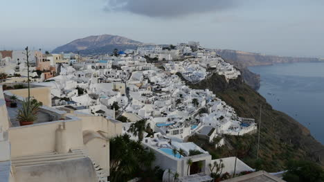 Greece-Santorini-Fira-In-Shade