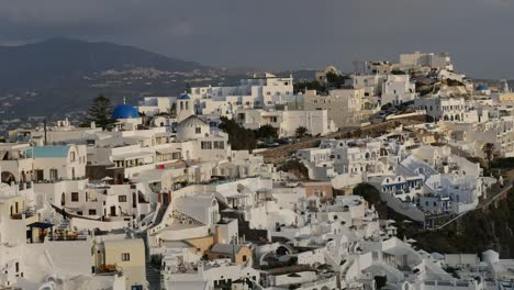 Greece-Santorini-Fira-Late-Afternoon-Light